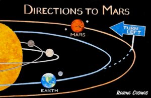 Roving Cosmos Directions to Mars