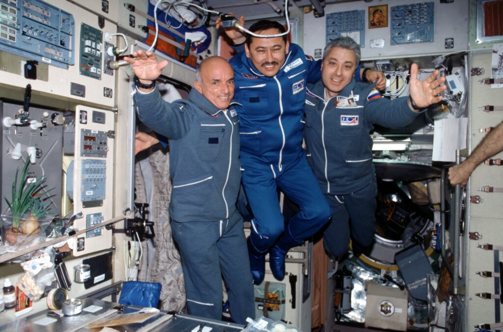 dennis tito on ISS